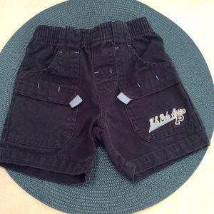 U.S. Polo Assn navy shorts. Size 3-6M